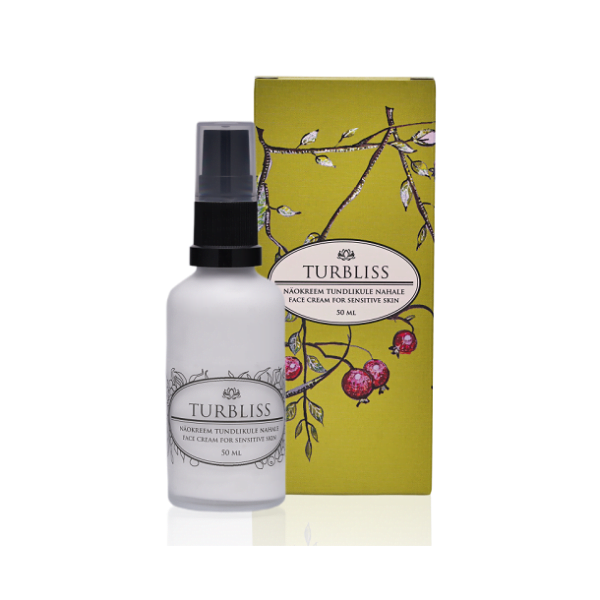 TurBliss Face Cream for Sensitive Skin Beauty defined by J Ansigtscreme