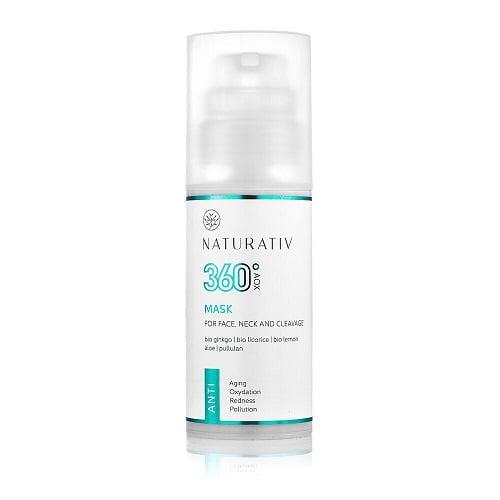 Naturativ AOX oekologisk vegansk ansigtsmaske 1 Ansigtsmaske