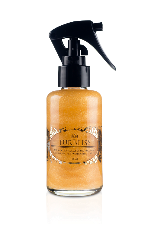 TurBliss Illuminating PeatWater with 24K Gold 50ml Peat Water